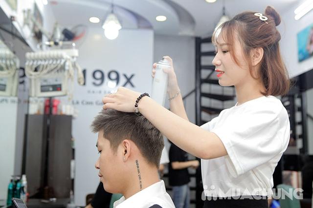 Trọn Gói Gội + Cắt + Uốn/Nhuộm/Ép - Tặng Hấp Phục hồi bảo vệ, Dưỡng óng mượt Tại 199X Hair Salon - 14