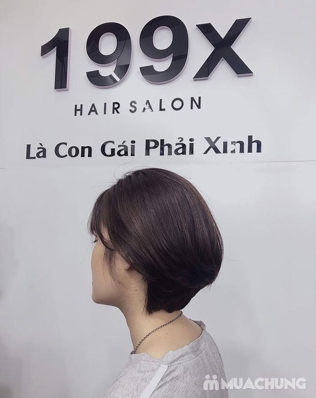 Trọn Gói Gội + Cắt + Uốn/Nhuộm/Ép - Tặng Hấp Phục hồi bảo vệ, Dưỡng óng mượt Tại 199X Hair Salon - 21