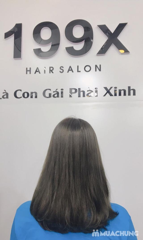 Trọn Gói Gội + Cắt + Uốn/Nhuộm/Ép - Tặng Hấp Phục hồi bảo vệ, Dưỡng óng mượt Tại 199X Hair Salon - 23