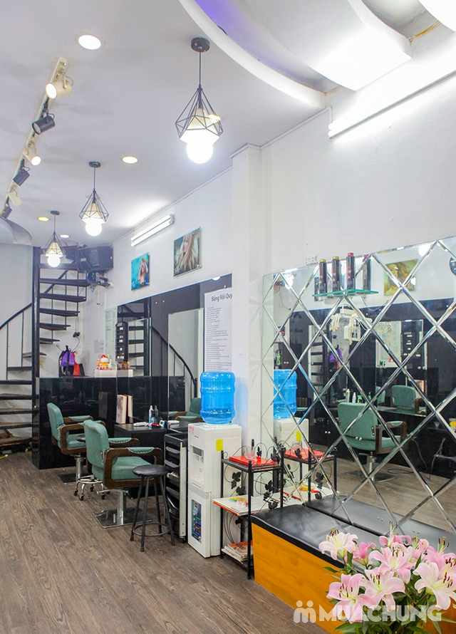 Trọn Gói Gội + Cắt + Uốn/Nhuộm/Ép - Tặng Hấp Phục hồi bảo vệ, Dưỡng óng mượt Tại 199X Hair Salon - 31