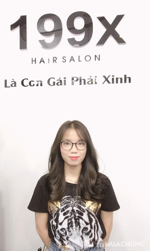 Trọn Gói Gội + Cắt + Uốn/Nhuộm/Ép - Tặng Hấp Phục hồi bảo vệ, Dưỡng óng mượt Tại 199X Hair Salon - 30