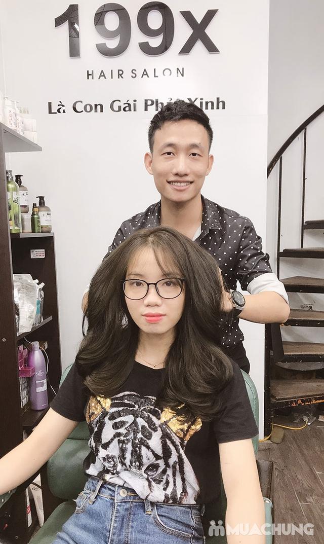 Trọn Gói Gội + Cắt + Uốn/Nhuộm/Ép - Tặng Hấp Phục hồi bảo vệ, Dưỡng óng mượt Tại 199X Hair Salon - 27