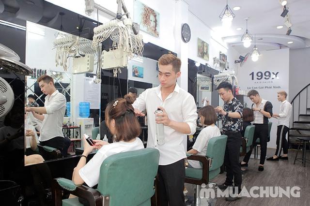 Trọn Gói Gội + Cắt + Uốn/Nhuộm/Ép - Tặng Hấp Phục hồi bảo vệ, Dưỡng óng mượt Tại 199X Hair Salon - 18