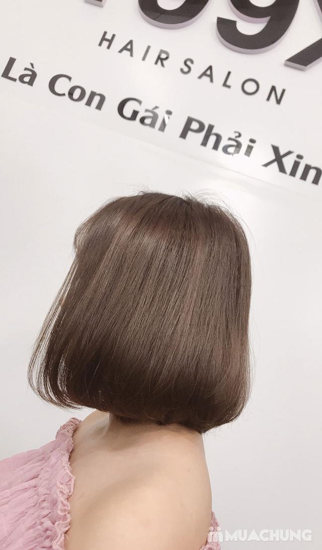 Trọn Gói Gội + Cắt + Uốn/Nhuộm/Ép - Tặng Hấp Phục hồi bảo vệ, Dưỡng óng mượt Tại 199X Hair Salon - 29
