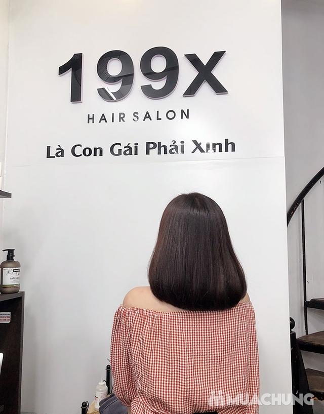 Trọn Gói Gội + Cắt + Uốn/Nhuộm/Ép - Tặng Hấp Phục hồi bảo vệ, Dưỡng óng mượt Tại 199X Hair Salon - 26