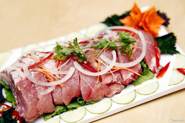 Lựa chọn 01 trong 03 loại Lẩu cực ngon: Lẩu gà, Lẩu sườn, Ếch om bia tươi tại Nhà hàng The Sun - Chỉ 229.000đ - 10