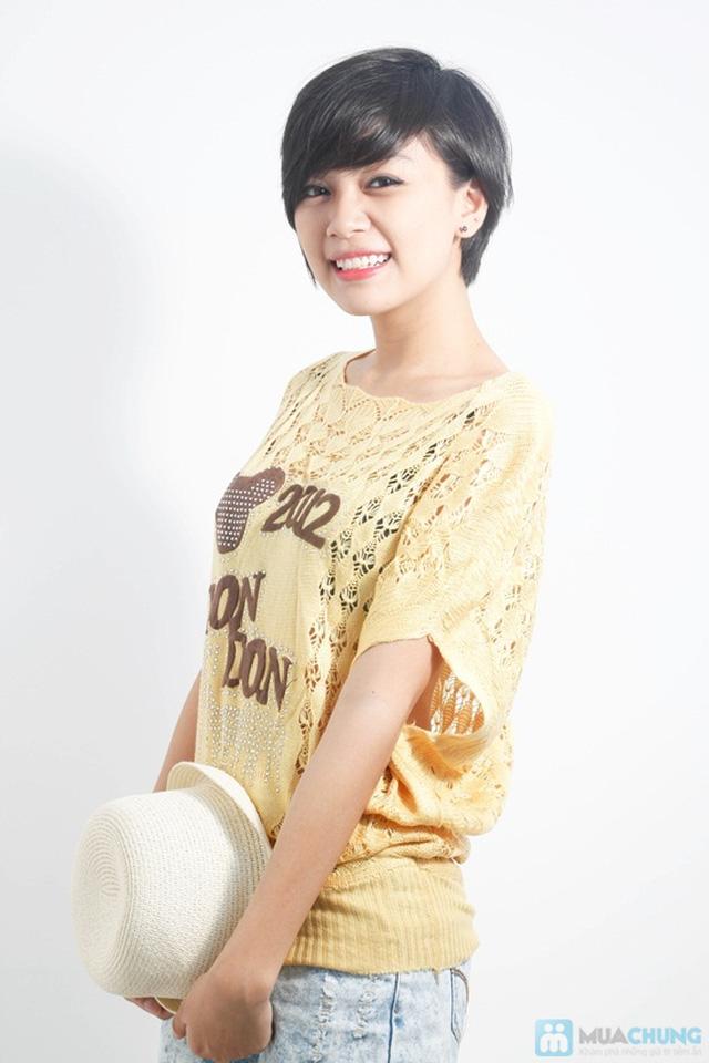Đẹp dịu dàng và nữ tính với áo cánh dơi móc len xinh xắn - Chỉ 88.000đ/01 chiếc - 2