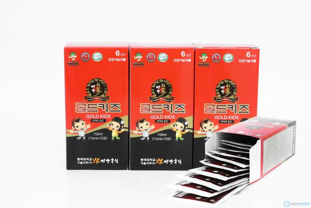 Bồi bổ sức khỏe cho bé với Tinh chất nước hồng sâm cho trẻ em Gold Kids - Chỉ với 880.000đ - 5