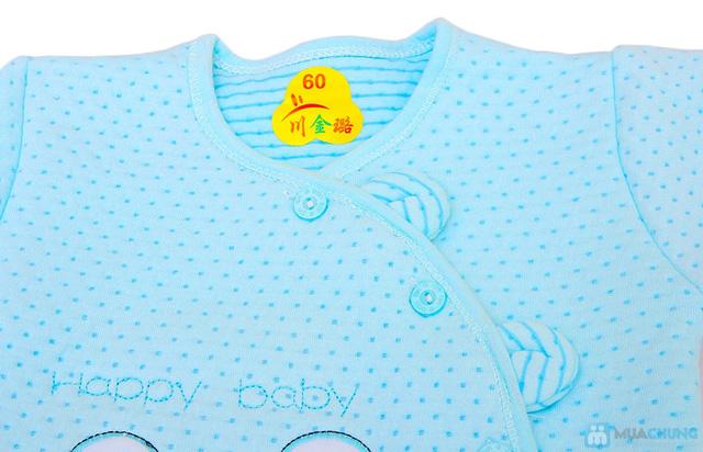 Bộ quần áo bông cho trẻ từ 0 - 6 tháng - 4