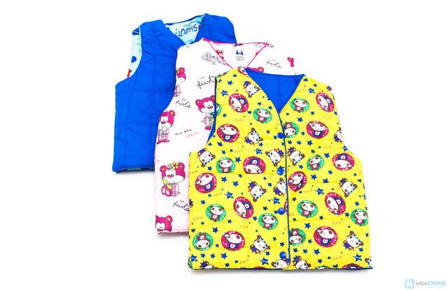 Áo gile phao cho bé - 8