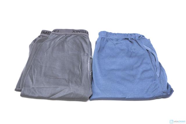 Combo 2 quần ngủ lót nỉ dành cho nam. Chỉ 90.000đ - 6