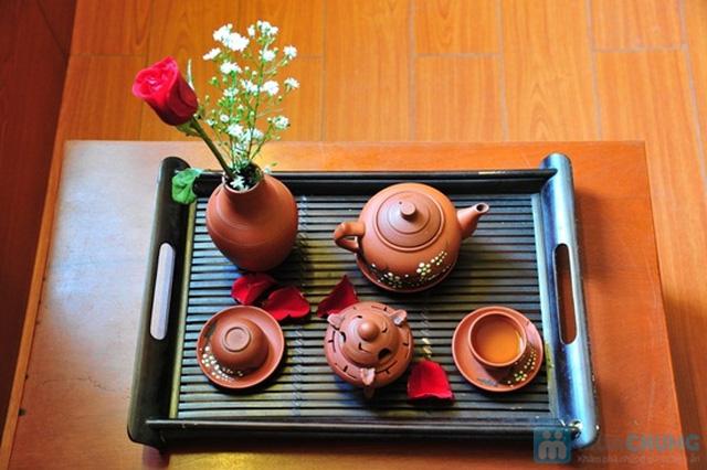 Combo ăn bánh-uống trà dành cho 2 người tại PQ trà quán - Chỉ 30.000đ - 14