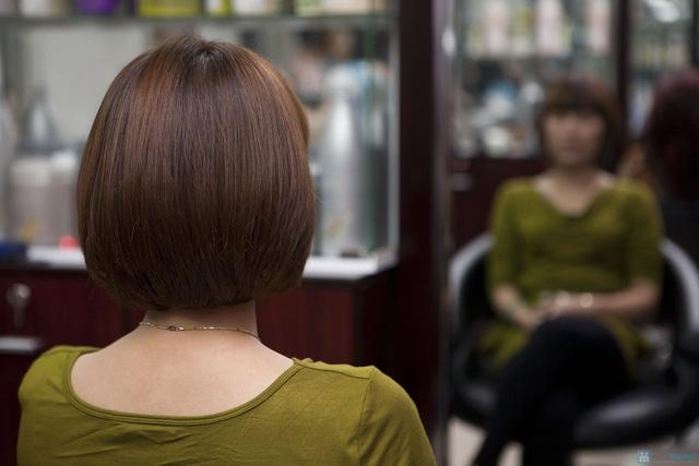 Lựa chọn 01 trong 03 dịch vụ làm tóc: Uốn lạnh, Nhuộm, Ép phồng tại Salon tóc Hương Hà - Chỉ với 300.000đ - 9