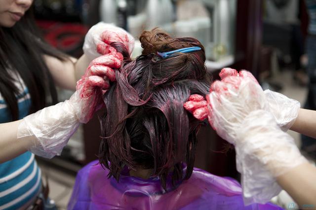 Lựa chọn 01 trong 03 dịch vụ làm tóc: Uốn lạnh, Nhuộm, Ép phồng tại Salon tóc Hương Hà - Chỉ với 300.000đ - 6