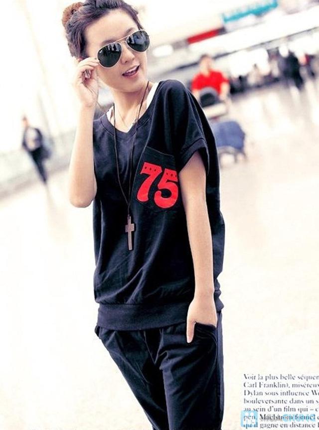Bộ đồ thể thao Hàn Quốc - Khỏe khắn, năng động và thời trang cho phái nữ.-Chỉ 130.000đ/ 01 bộ - 3