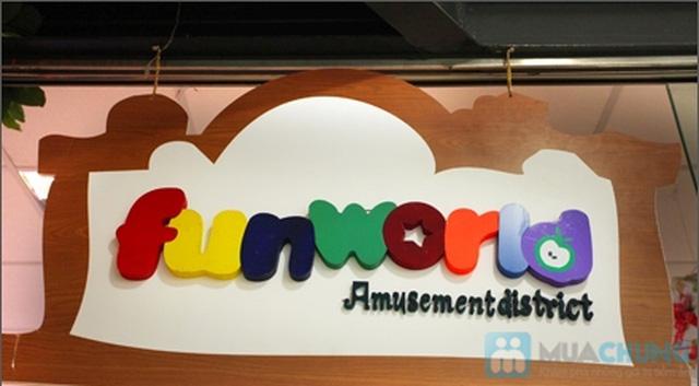 Cùng bé yêu thỏa sức vui chơi tại FunWorld vào các Ngày Trong Tuần tại Khu vui chơi Fun World- Chỉ với .000đ - 1