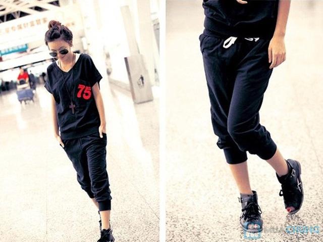 Bộ đồ thể thao Hàn Quốc - Khỏe khắn, năng động và thời trang cho phái nữ.-Chỉ 130.000đ/ 01 bộ - 2
