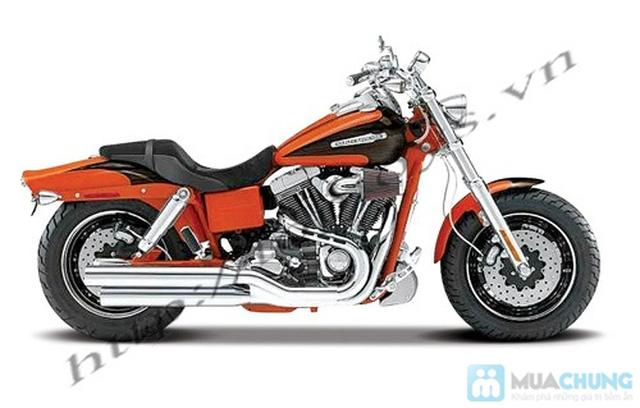 Mô hình xe máy Harley Davidson tỉ lệ 1:18 - Thật tới từng chi tiết - Chỉ với 115.000đ - 11