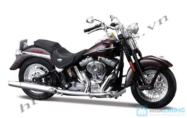 Mô hình xe máy Harley Davidson tỉ lệ 1:18 - Thật tới từng chi tiết - Chỉ với 115.000đ - 14