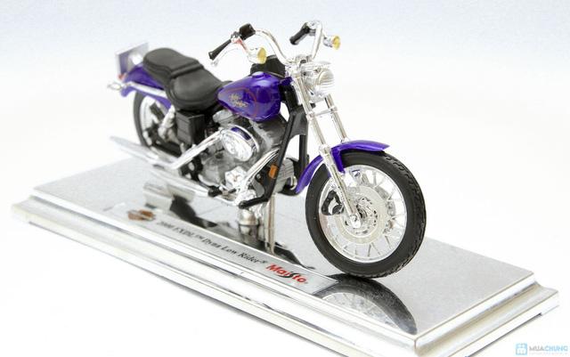Mô hình xe máy Harley Davidson tỉ lệ 1:18 - Thật tới từng chi tiết - Chỉ với 115.000đ - 4