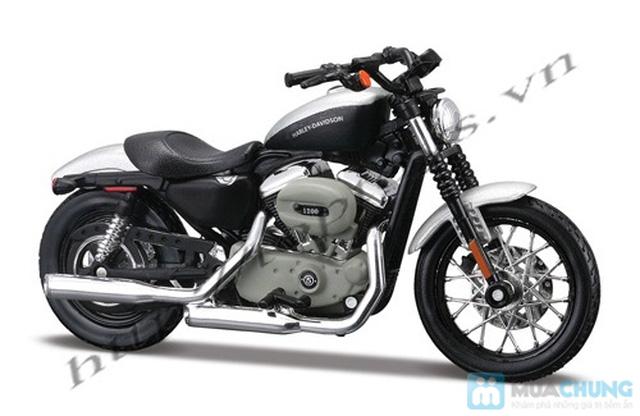 Mô hình xe máy Harley Davidson tỉ lệ 1:18 - Thật tới từng chi tiết - Chỉ với 115.000đ - 10