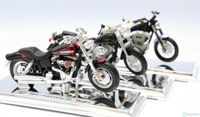 Mô hình xe máy Harley Davidson tỉ lệ 1:18 - Thật tới từng chi tiết - Chỉ với 115.000đ - 2