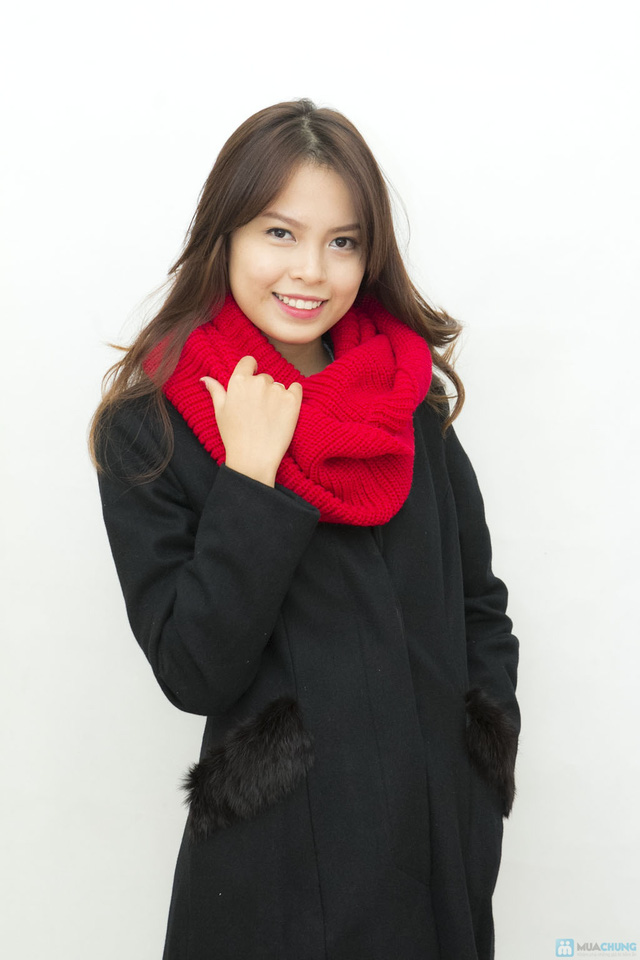 Thanh lịch và sang trọng với áo măng tô dạ - Ấm áp khi đông lạnh về - Chỉ với 690.000đ - 5