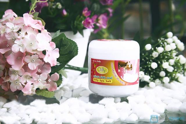 Làn da trắng sáng với Muối tắm Oily Spa Salt - Chỉ 75.000đ - 7