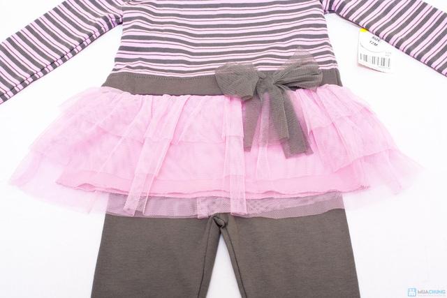 Giữ ấm cho bé khi đông về với bộ quần áo váy dài tay dễ thương - Chỉ với 110.000đ/ 01 bộ - 2