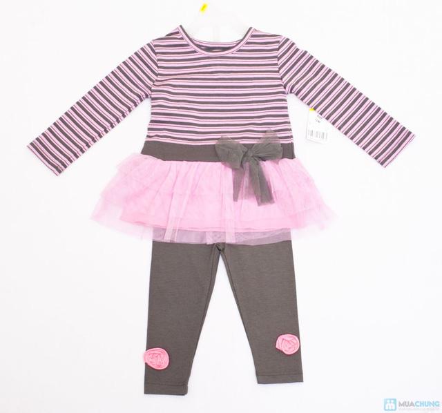 Giữ ấm cho bé khi đông về với bộ quần áo váy dài tay dễ thương - Chỉ với 110.000đ/ 01 bộ - 1
