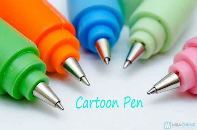 Bút dẻo cartoon xinh xắn, ngộ nghĩnh có thể uốn tạo hình theo ý thích - Chỉ 42.000đ/03 chiếc - 2