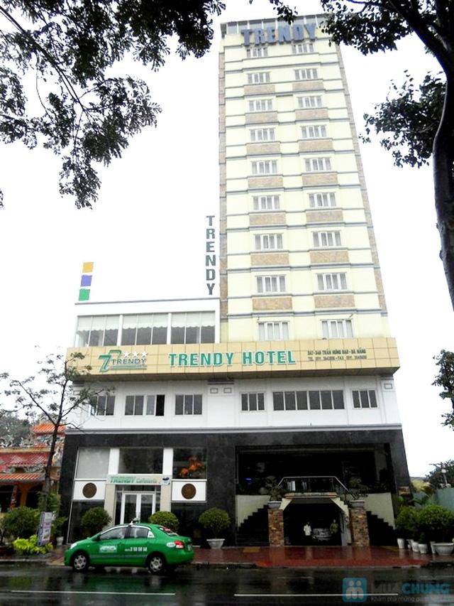 Khách sạn 3* quốc tế Trendy, bên bờ Đông của dòng sông Hàn thơ mộng. Phòng Superior cho 02 người kèm bữa sáng. Chỉ 400.000đ/đêm - 3