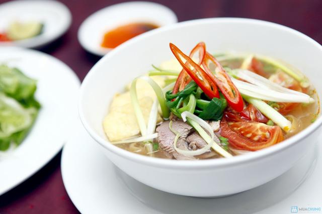 Buffet với các món ăn Hà Nội truyền thống tại Nhà hàng Thủy Tinh Cung - Khách sạn Bảo Sơn. Chỉ với 159.000đ - 10