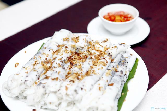 Buffet với các món ăn Hà Nội truyền thống tại Nhà hàng Thủy Tinh Cung - Khách sạn Bảo Sơn. Chỉ với 159.000đ - 9