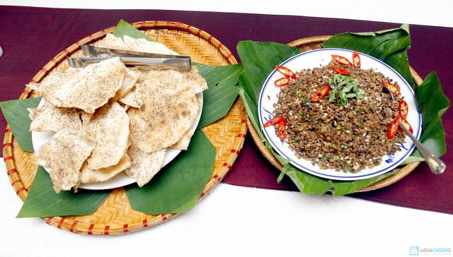 Buffet với các món ăn Hà Nội truyền thống tại Nhà hàng Thủy Tinh Cung - Khách sạn Bảo Sơn. Chỉ với 159.000đ - 7