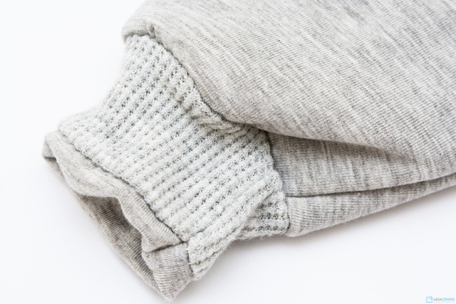 Bộ quần áo bông trần ấm áp cho bé - 6