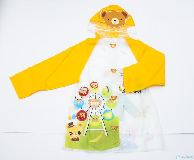 Áo mưa cho bé - Tiện dụng và giúp bé tự tin đến trường, không lo bị ướt - Chỉ với 77.000đ - 1