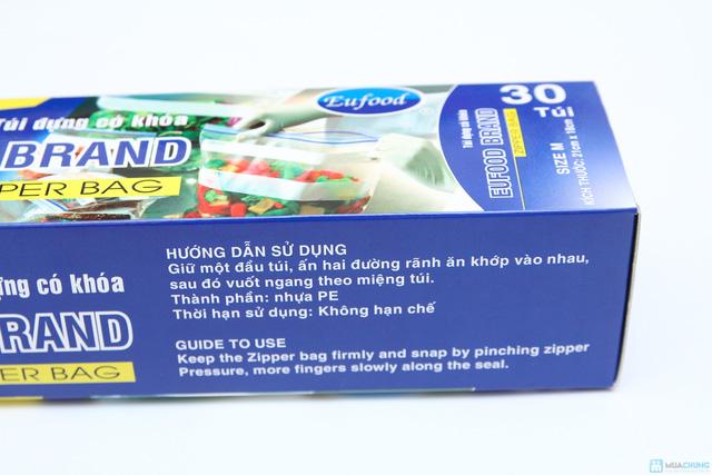 combo 3 hộp túi đựng thực phẩn có khóa EuFood Band - 2