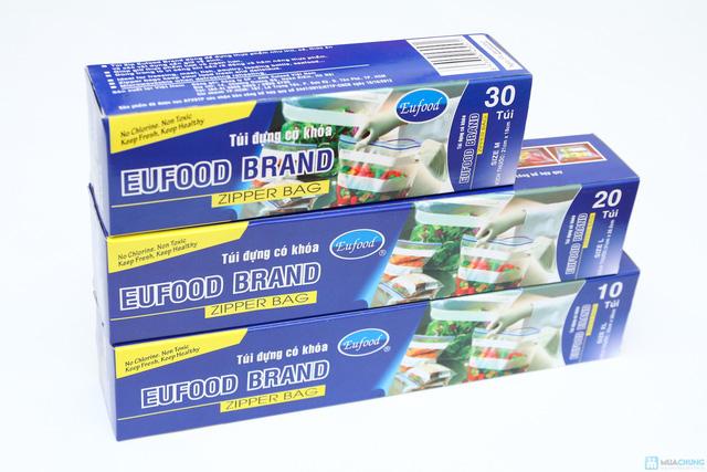 combo 3 hộp túi đựng thực phẩn có khóa EuFood Band - 1