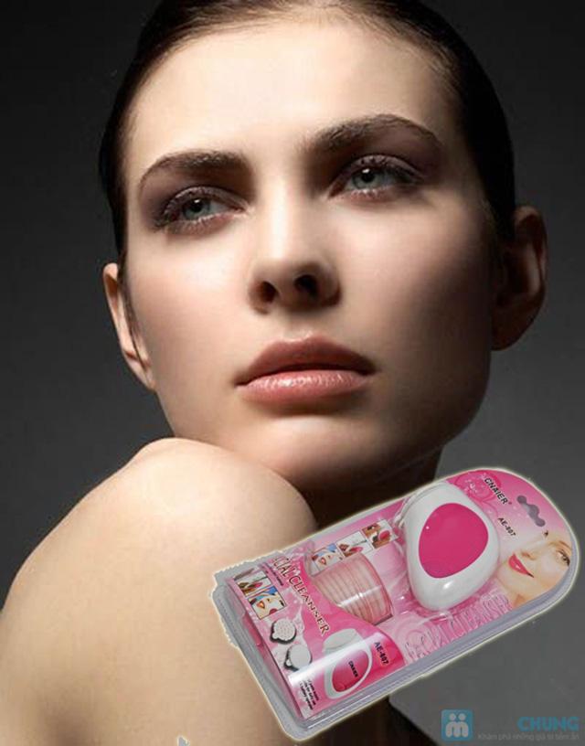 Máy rửa mặt massage mini 2 trong 1 tiện dụng, cho bạn làn da láng mịn, xua tan mệt mỏi - Chỉ 95.000đ/01 chiếc - 4