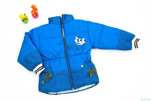 Áo phao ấm áp và xinh xắn dành cho bé gái - Chỉ với 113.000đ - 1