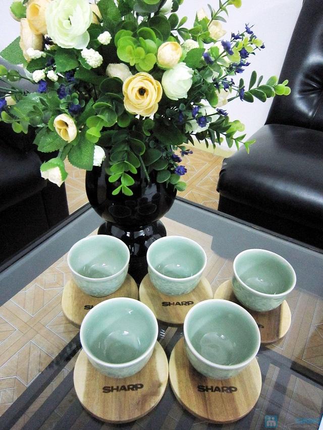 Bộ ấm trà men ngọc Hàn Quốc - quà tặng ý nghĩa cho ngày 20/11 - Chỉ 135.000đ/bộ - 9