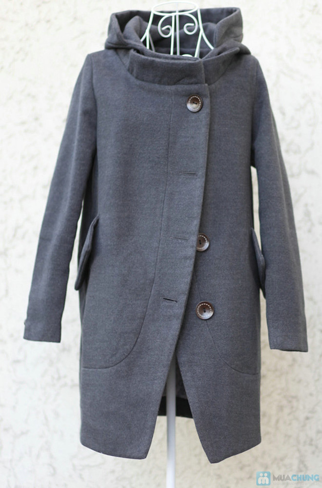 Áo khoác dạ dáng dài - cổ điển và sang trọng - chỉ 430.000đ - 10
