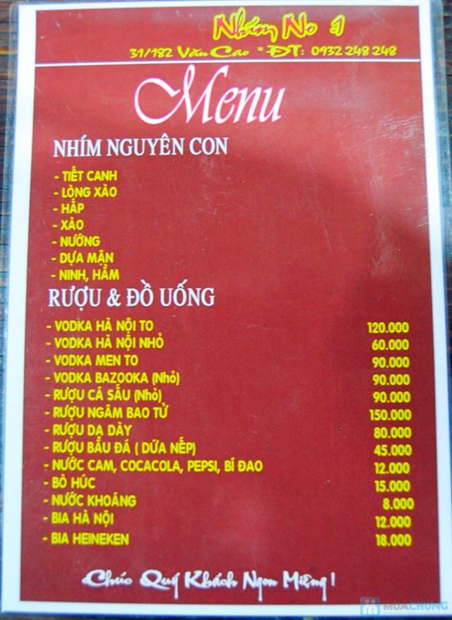 Set ăn nhím nướng tại bàn tại Nhà hàng Nhím No1 - Chỉ 432.000đ - 17