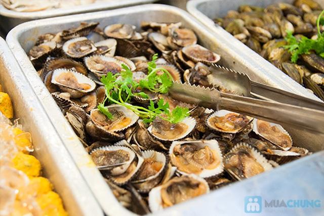 Buffet hải sản Happy Tôm - với hơn 70 món khác nhau - Chỉ với 329.000đ/ 01 người - 8