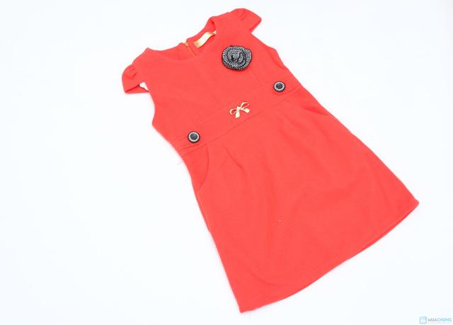 Váy dạ xinh xinh cho bé gái - Ấm áp và thời trang - Chỉ với 115.000đ  - 6