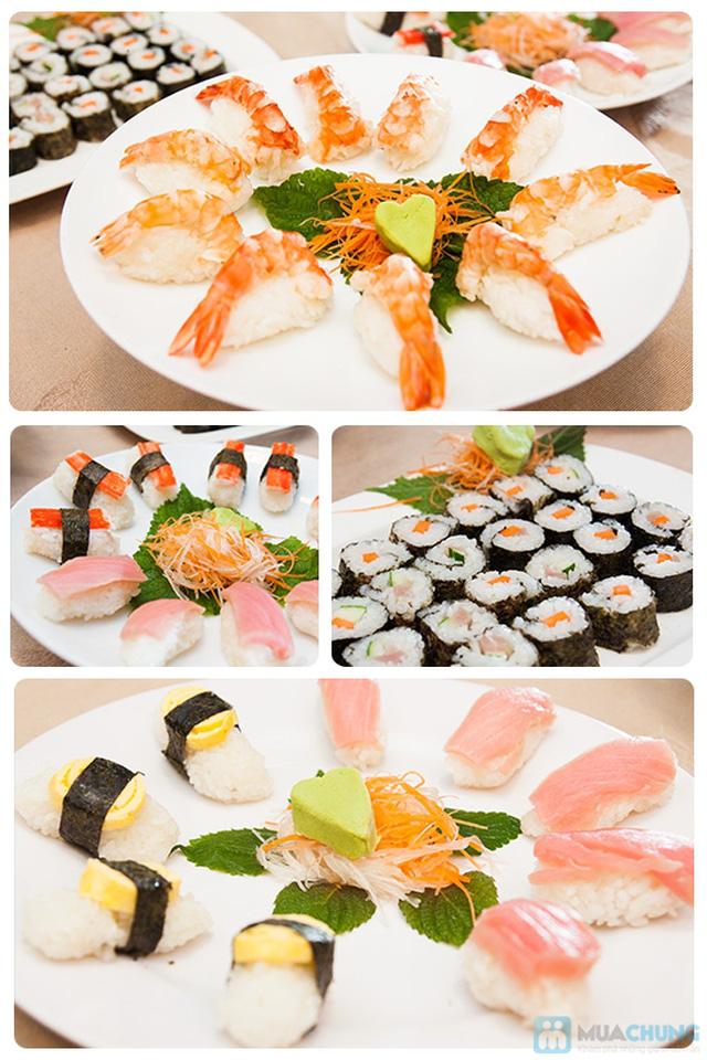 Buffet hải sản Happy Tôm - với hơn 70 món khác nhau - Chỉ với 329.000đ/ 01 người - 2