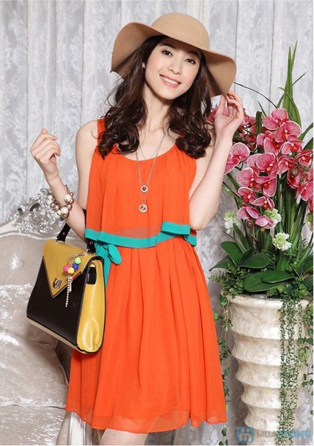 Bạn gái dịu dàng và xinh xắn với đầm Tina kèm thắt lưng thời trang - Chỉ 145.000đ/01 chiếc - 4