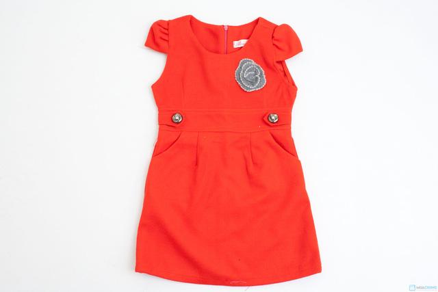 Váy dạ xinh xinh cho bé gái - Ấm áp và thời trang - Chỉ với 115.000đ - 1