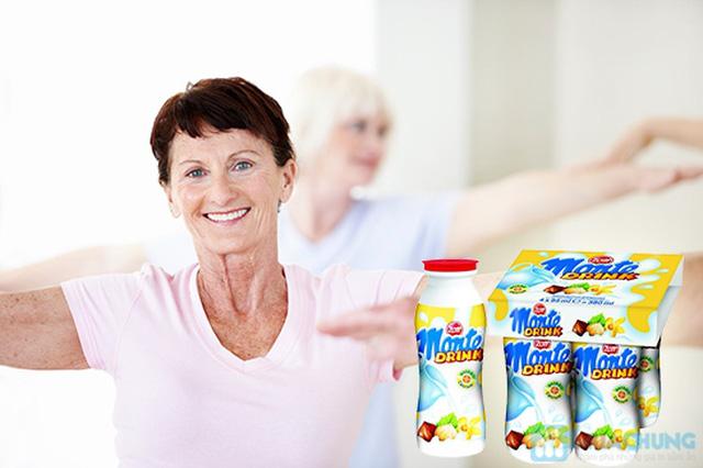 Combo 03 lốc váng sữa đóng chai Monte Drink - Nhập khẩu từ CHLB Đức - Chỉ 108.000đ/03 lốc/12 chai - 5